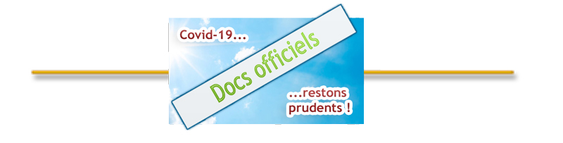 Covid-19 – Documents officiels