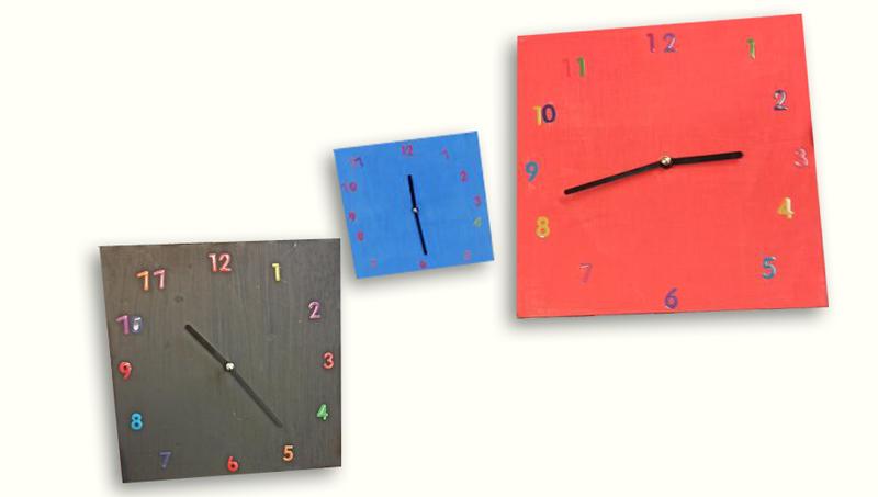 Une Horloge pour le périscolaire